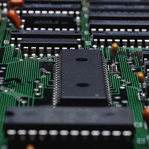 电路板_电子行业_cms010015服务类商业蓝色模板